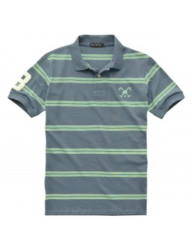 Camiseta Polo Striped MC